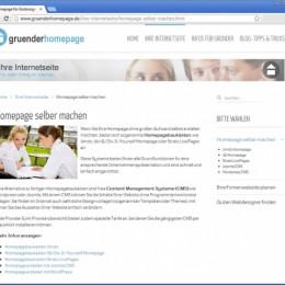 Die eigene Homepage kostengünstig selbst erstellen