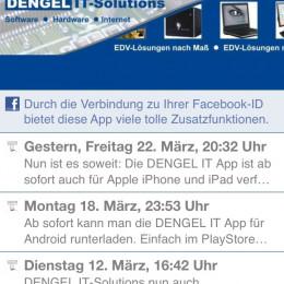 DENGEL IT-Solutions nun mit eigener App für iOS und Android