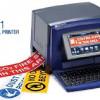 Schilder-/Etikettendrucker BBP31 für die Sicherheits- und Gebäudekennzeichnung