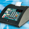 Desk-Top Touch-PC mit Drucker