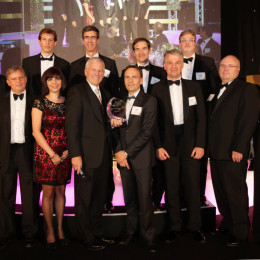 Novelis und CEO Phil Martens erhalten höchste Auszeichnung bei den Platts Global Metal Awards in London 2013