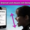 App lässt das iPhone und iPad mit dem Kopf steuern
