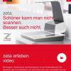 Mobile App für Zeutschel zeta Scanner