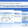 Westernacher stellt das erste englischsprachige SAP Transportation Management (SAP TM) Webinar Video mit SAP Live-Demo online.
