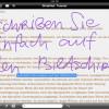 WritePad verwandelt iPads, iPods und iPhones in ein komplettes Schreibbüro!