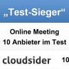 Mikogo gewinnt 1. Platz in der Kategorie ?Online Meeting Tools?  auf cloudsider.com